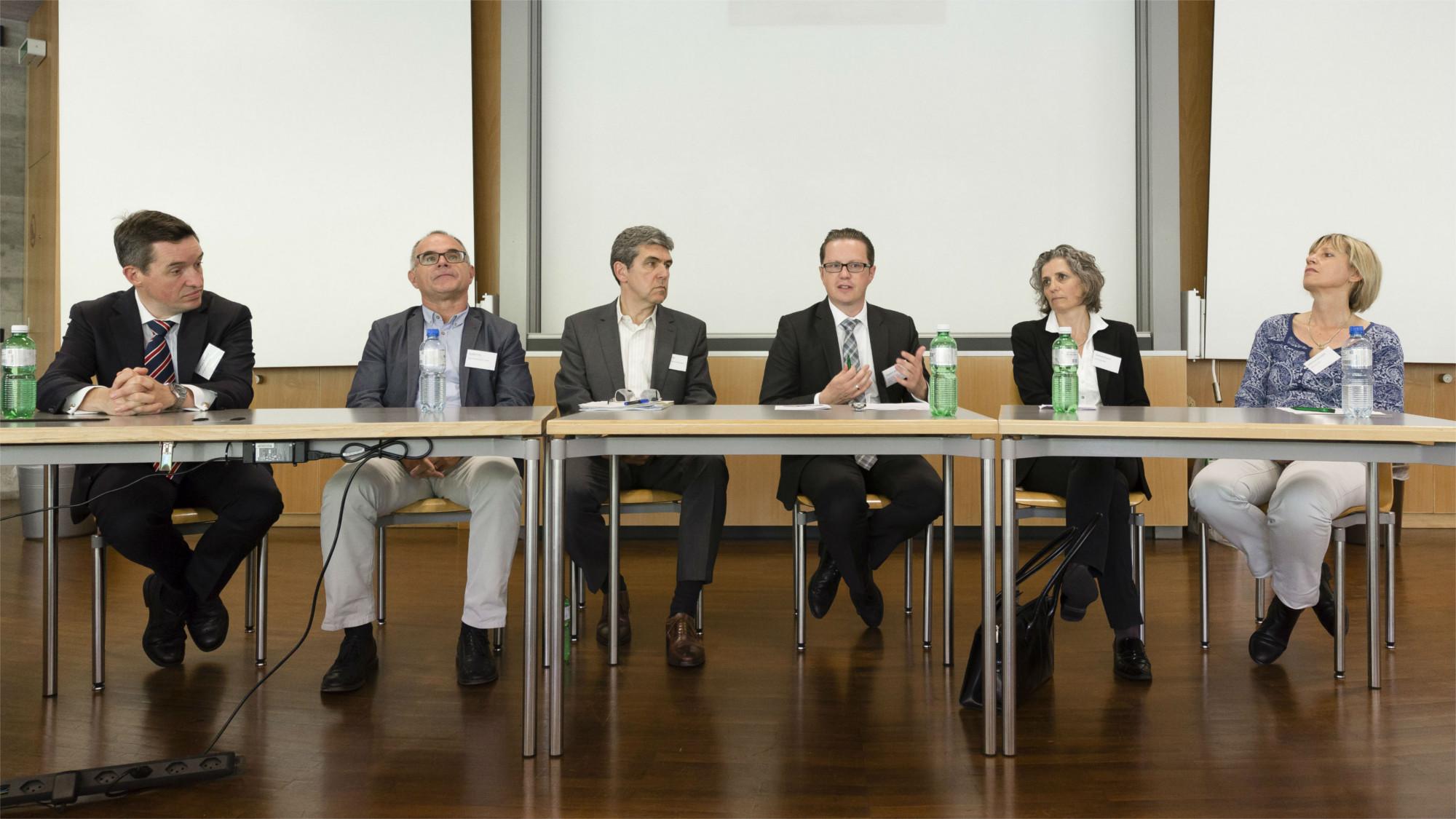 Paneldiskussion moderiert durch Prof. Dr. Stephan Böhm