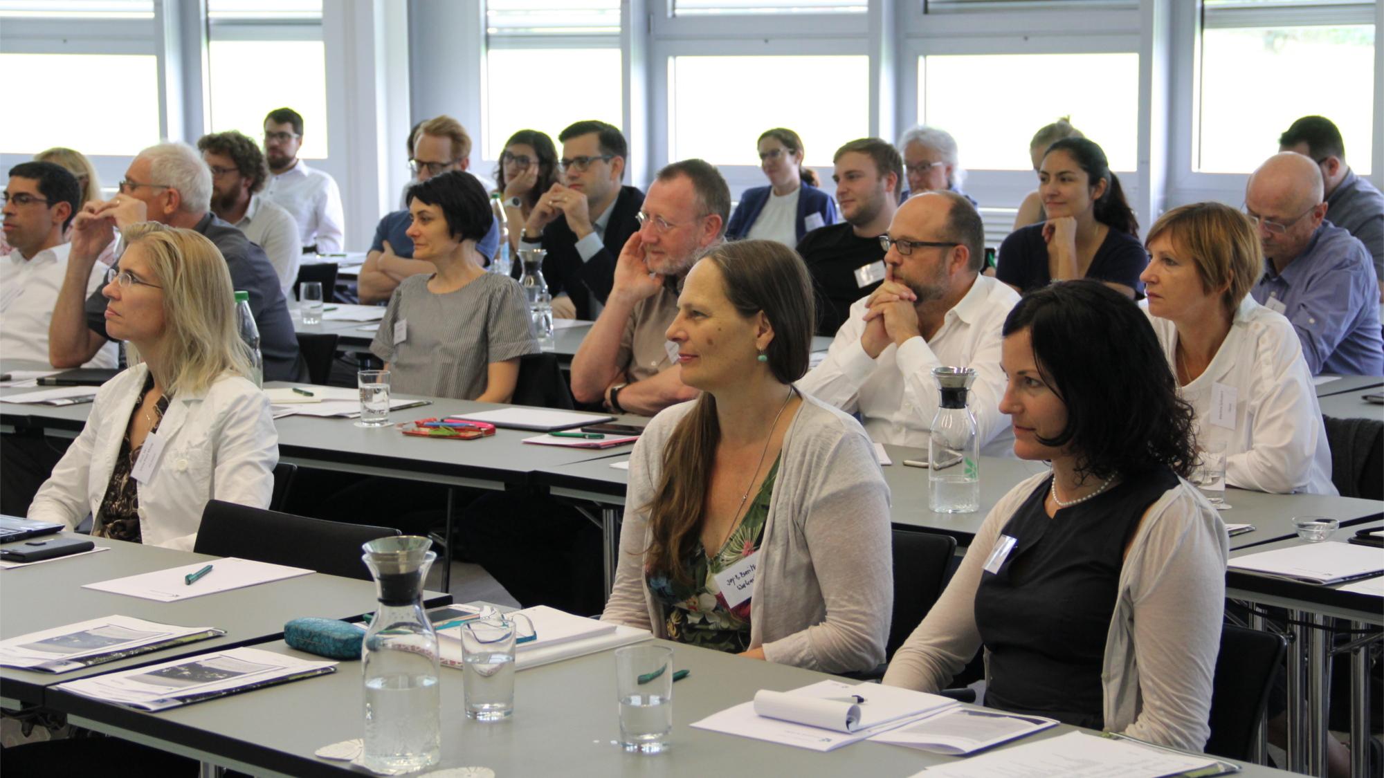 TeilnehmerInnen des interdisziplinären Workshops 2019