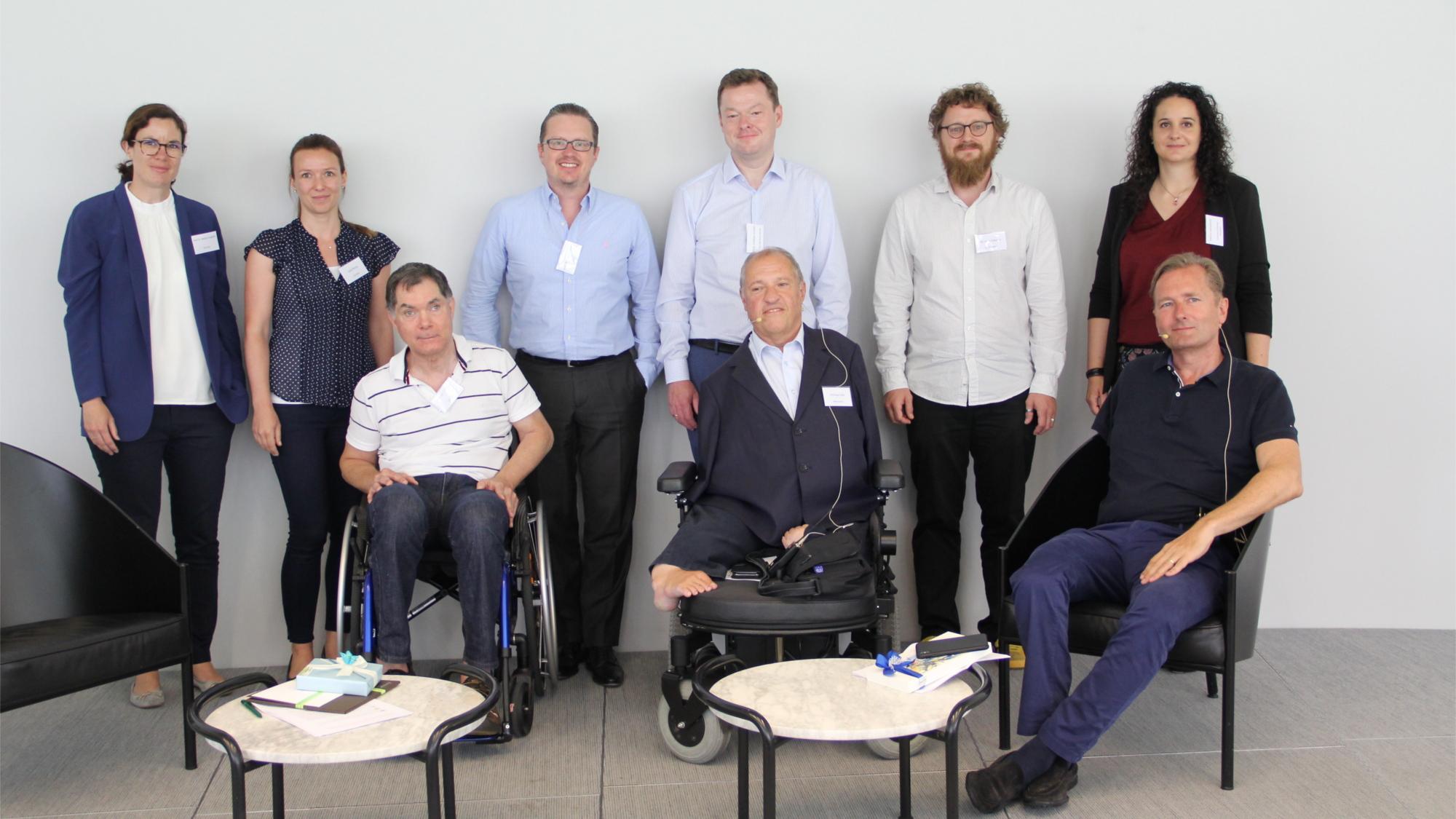 TeilnehmerInnen und ModeratorInnen der Paneldiskussionen
