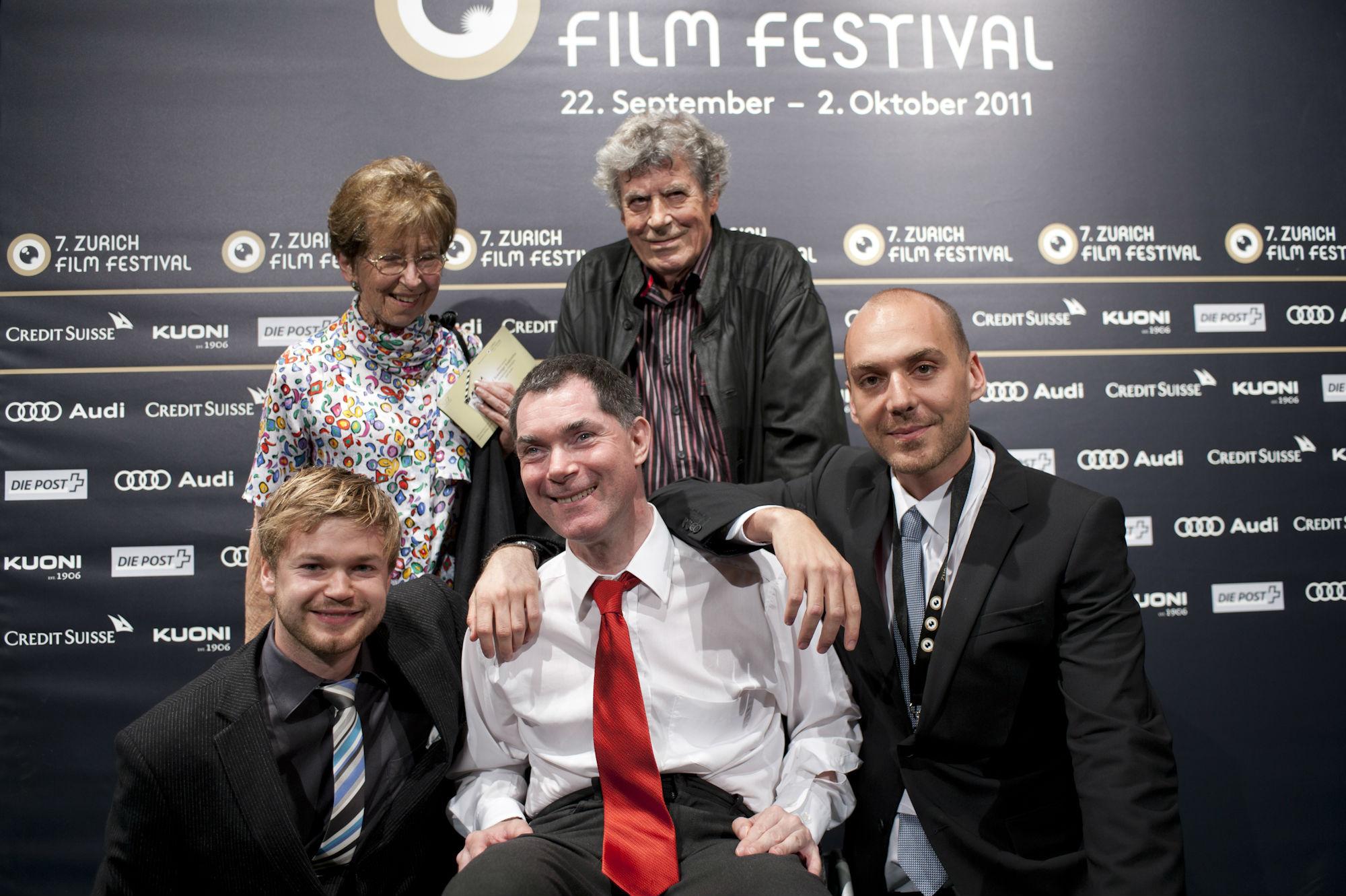 Filmvestival Zürich mit den Eltern von Nils