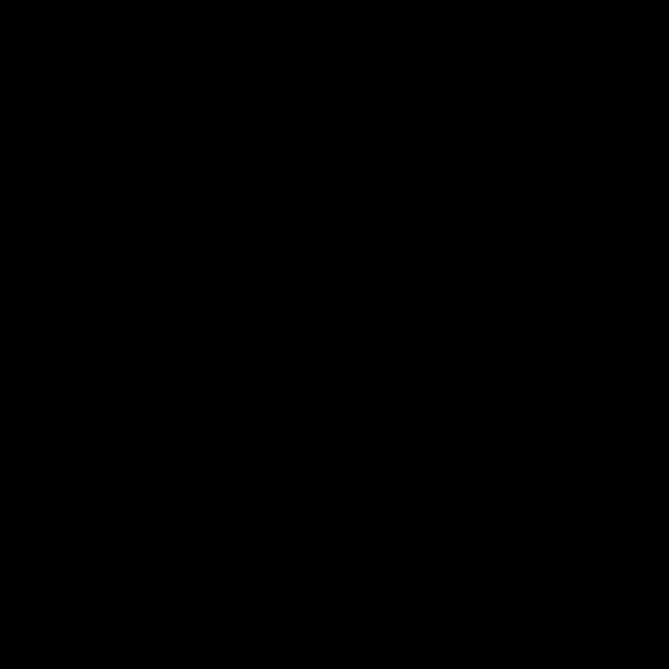 Icon einer Waage, die zu einer Seite geneigt ist