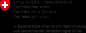Logo des Eidgenössischen Büros für die Gleichstellung von Menschen mit Behinderungen (EBGB)